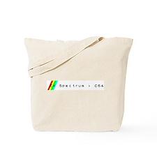 ZX spectrum > C64 Tote Bag