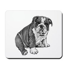 Puppy Drawing Mousepad