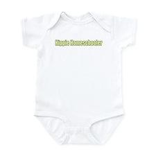 Hippie Homeschooler Infant Bodysuit