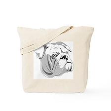Cutout Head Tote Bag