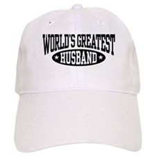 World's Greatest Husband Baseball Cap