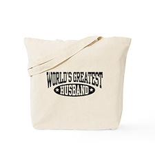 World's Greatest Husband Tote Bag