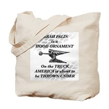 Palin Hood Ornament Tote Bag