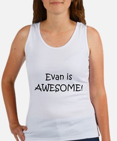 Funny Evan Women's Tank Top