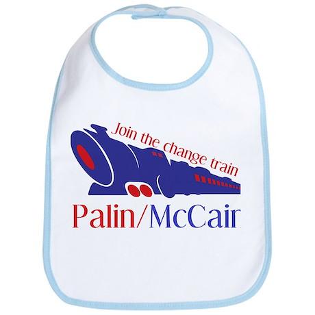 McCain Train Bib