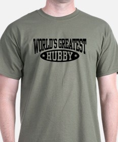 World's Greatest Hubby T-Shirt
