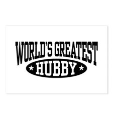 World's Greatest Hubby Postcards (Package of 8)