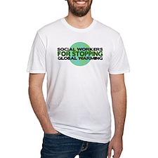 Social Workers Stop Global Warming Shirt