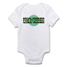 Social Workers Stop Global Warming Infant Bodysuit
