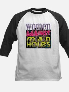 Women Against Manholes Tee