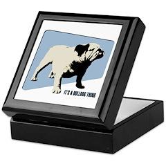 It's a Bulldog collar box