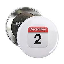 "Apple iPhone Calendar December 2 2.25"" Button"
