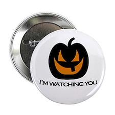 "Scary Pumpkin 2.25"" Button"