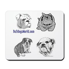 Bulldogs Mousepad