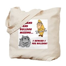 Bulldogsworld Tote Bag