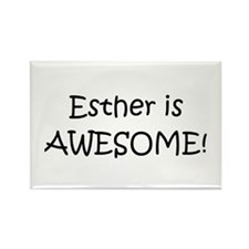 Cute Esther Rectangle Magnet (10 pack)