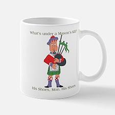 Under a Masons Kilt Mug