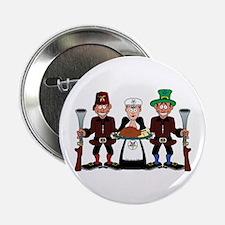 """Masonic Clan at Thanksgiving 2.25"""" Button"""