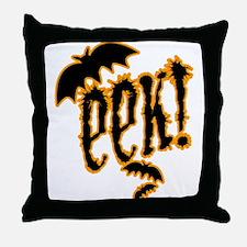 Eek! Halloween Throw Pillow