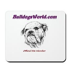 Bulldog Mousepad