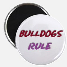 Cool Bulldog sayings Magnet