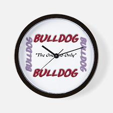 Unique Bulldogsworld Wall Clock