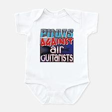 Pilots Against Air Guitarists Infant Bodysuit