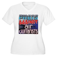 Pilots Against Air Guitarists T-Shirt