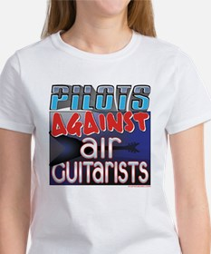 Pilots Against Air Guitarists Women's T-Shirt