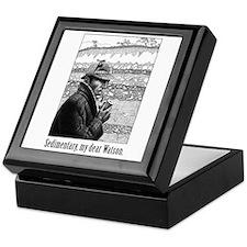 Sedimentary, My Dear Watson Keepsake Box
