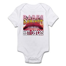Babes Against Barn Dances Infant Bodysuit