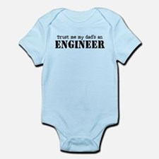 Trust Me My Dad's An Engineer Onesie