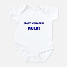 Plant Managers Rule! Infant Bodysuit