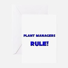 Plant Managers Rule! Greeting Cards (Pk of 10)