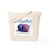 Hobbies crochet Totes & Shopping Bags