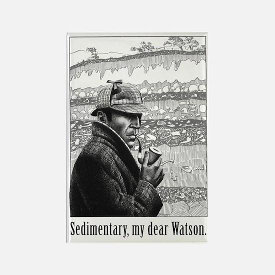 Sedimentary, My Dear Watson Magnet