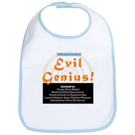 Funny Evil Genius Citrix TShi Bib