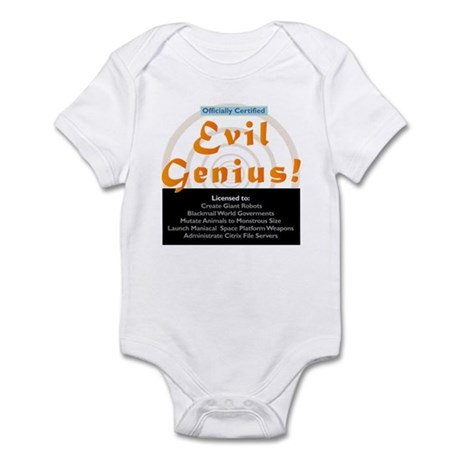 Funny Evil Genius Citrix TShi Infant Bodysuit