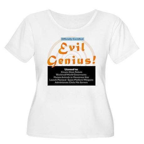 Funny Evil Genius Citrix TShi Women's Plus Size Sc