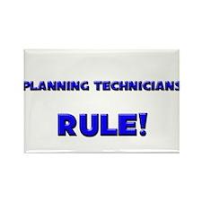 Planning Technicians Rule! Rectangle Magnet