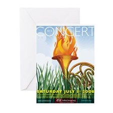 Concert 2008 Greeting Cards (Pk of 10)