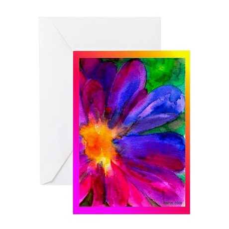 Happiness Flower Greeting Card