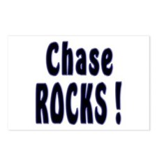 Chase Rocks ! Postcards (Package of 8)