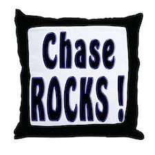 Chase Rocks ! Throw Pillow