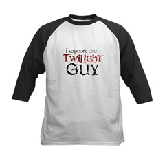 I Support The Twilight Guy Kids Baseball Jersey