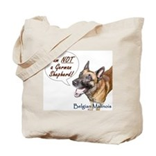 I'm not a German Shepherd! Tote Bag