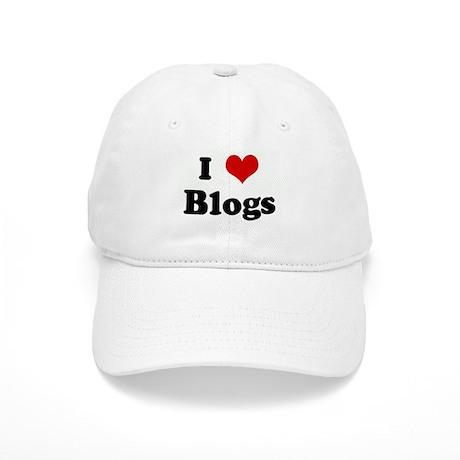 I Love Blogs Cap