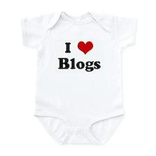 I Love Blogs Infant Bodysuit
