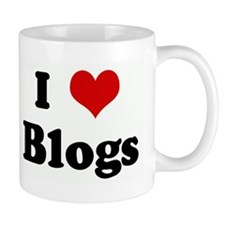 I Love Blogs Mug