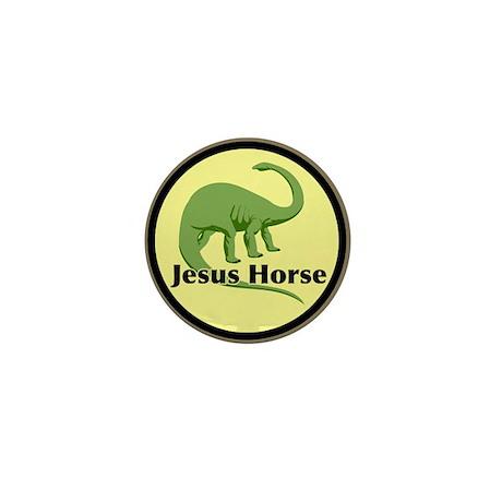 """""""Jesus Horse"""" Mini Button"""